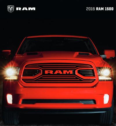 2018 RAM 1500 Catalog