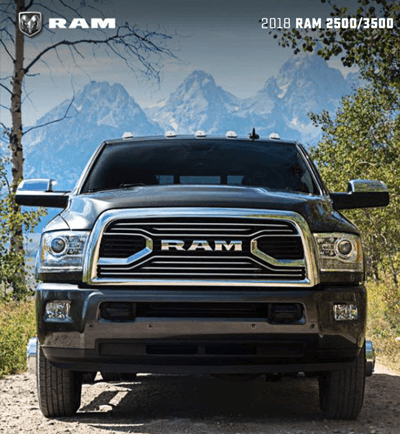 2018 RAM HD Catalog