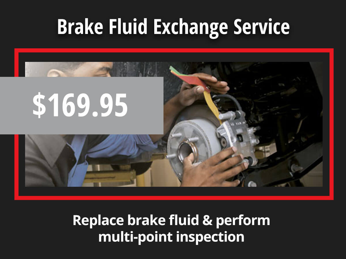 CDJR Brake Fluid Exchange Service Special