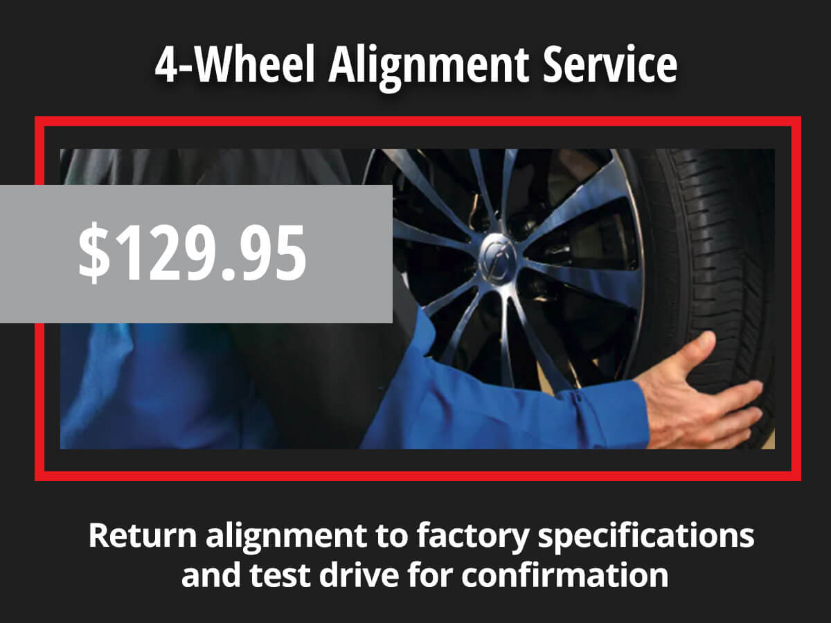 Chrysler Dodge Jeep Ram 4 Wheel Alignment Coupon Special