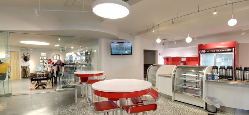 CDJR Service Lounge Coffee Bar