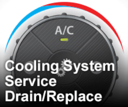 Cooling System Service Drain/Replace