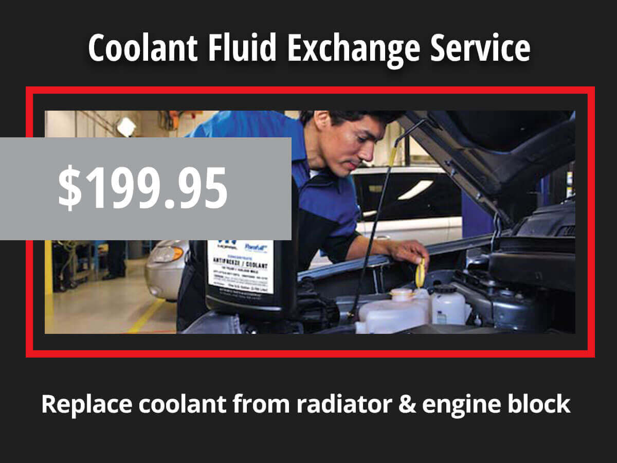 Coolant Fluid Exchange