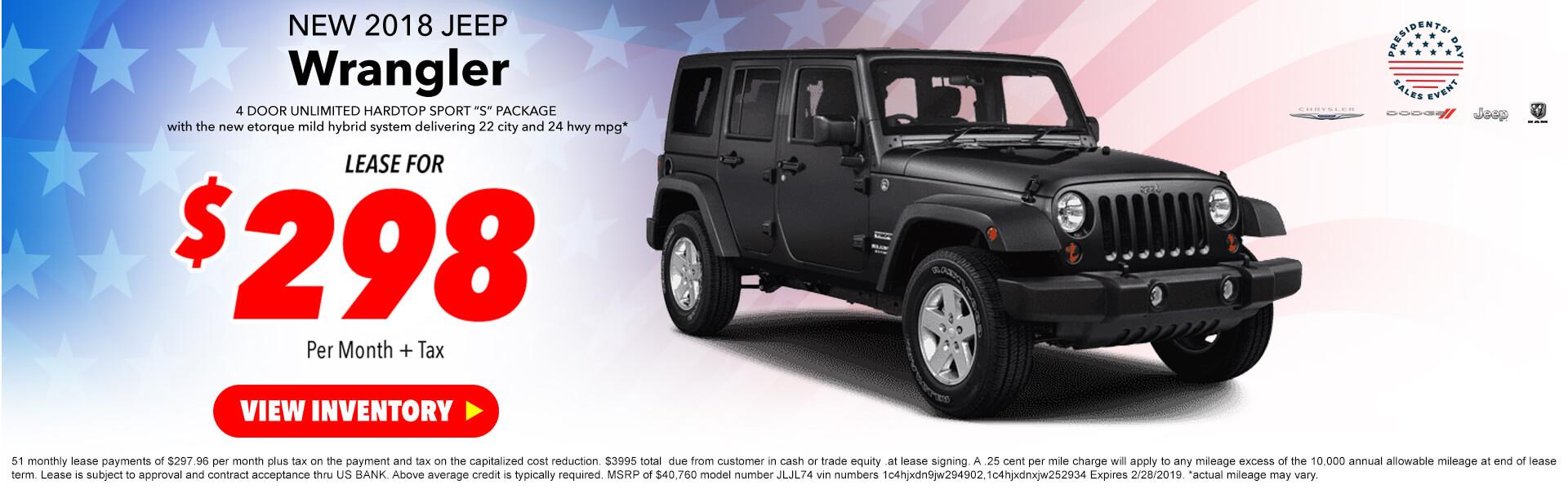 Jeep Wrangler UNL Sport