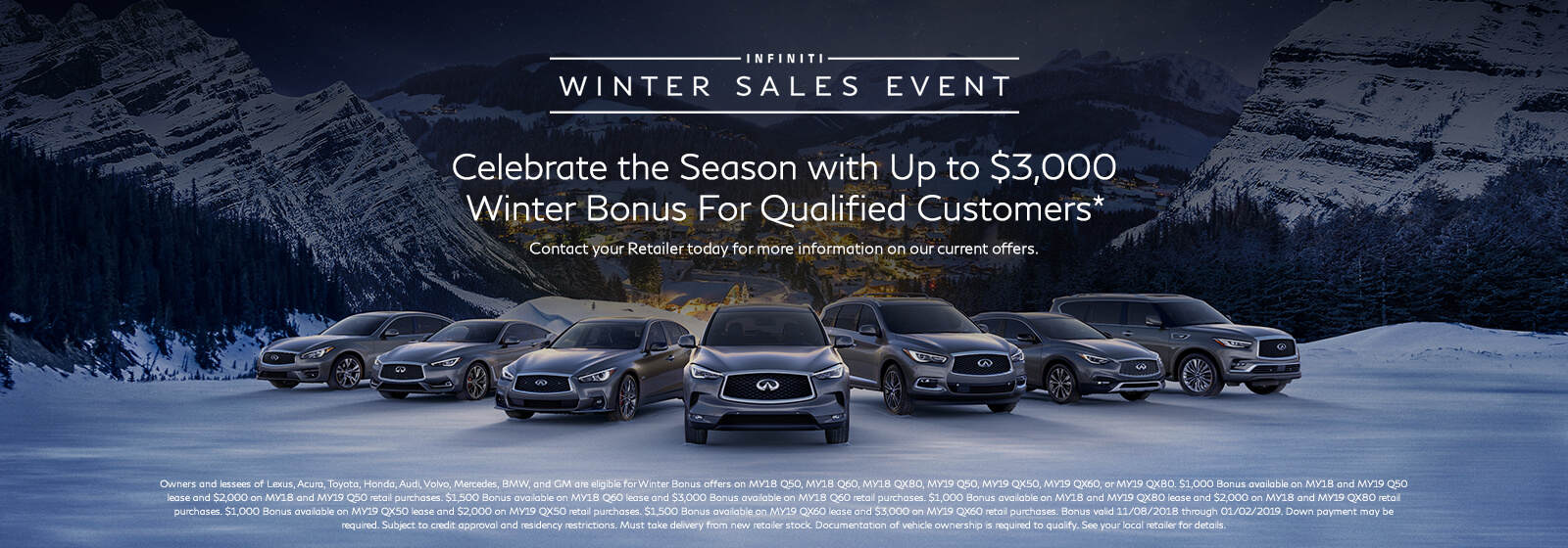 Winter Sales Event Bonus Updated
