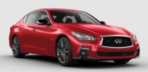 Infiniti Q50 J.D. Power Awards