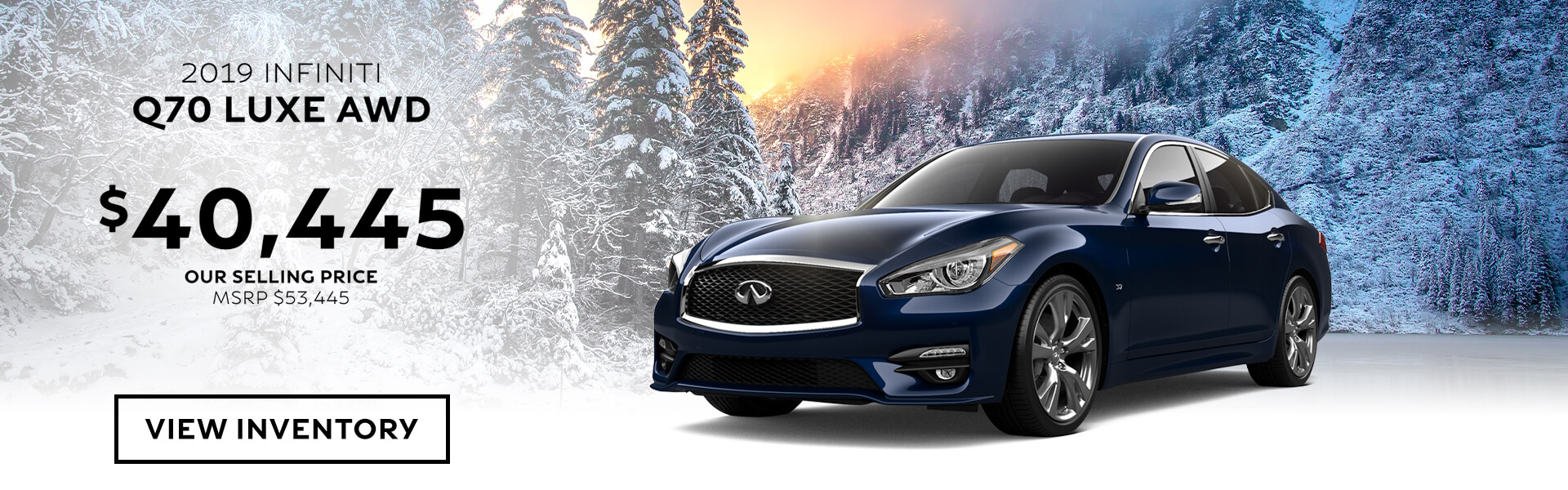Q70 LUXE - Purchase for 40,445