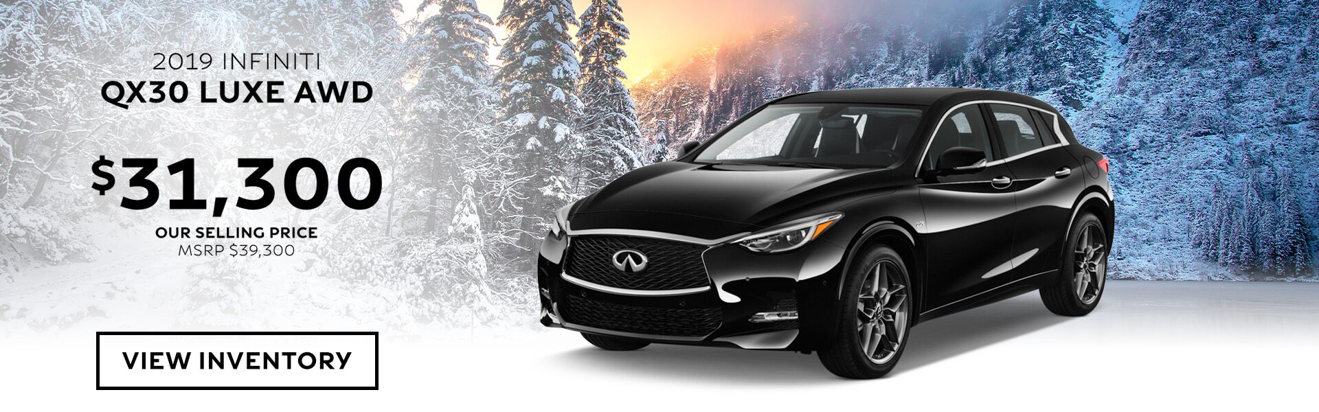 QX30 Purchase offer