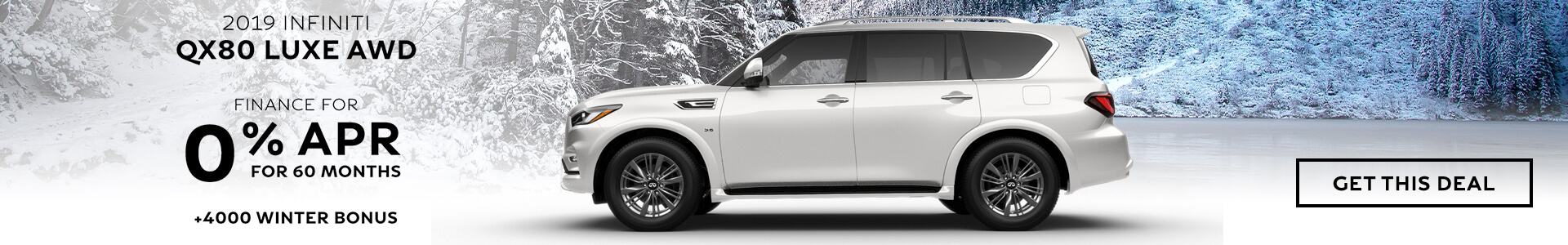 QX80 - Finance for 0%