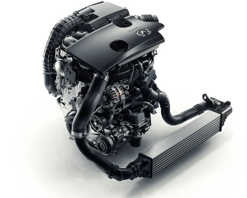 InFiniti VC-Turbo Variable Compression Ratio Engine