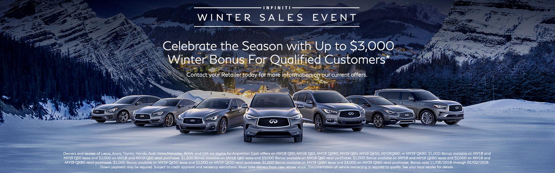 2018 Winter Sales Event