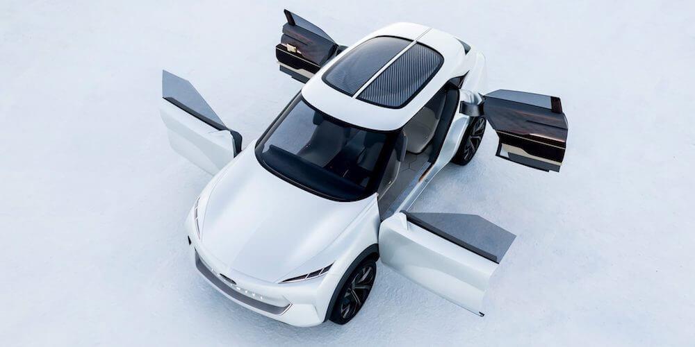 2019 INFINITI QX Inspiration Electric Vehicle