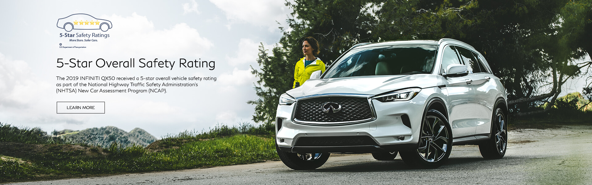 QX50 5-Star Safety Rating