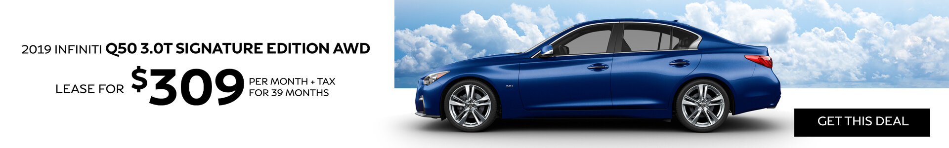 Q50 SE - Lease for $309