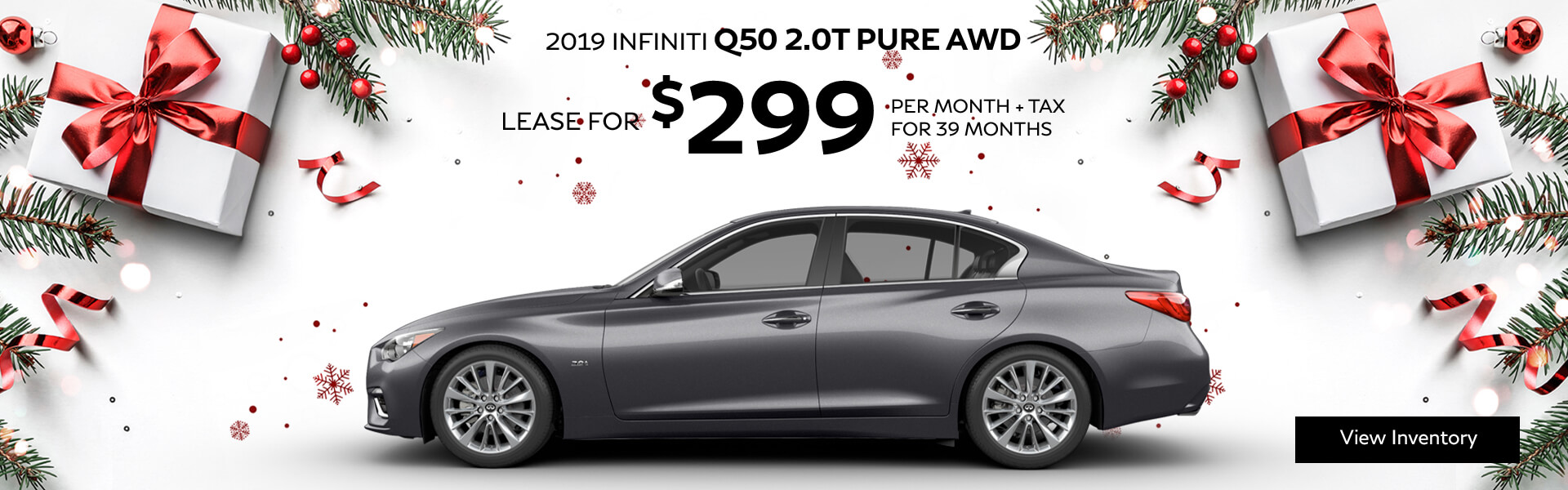 Q50 PURE - Lease for $299