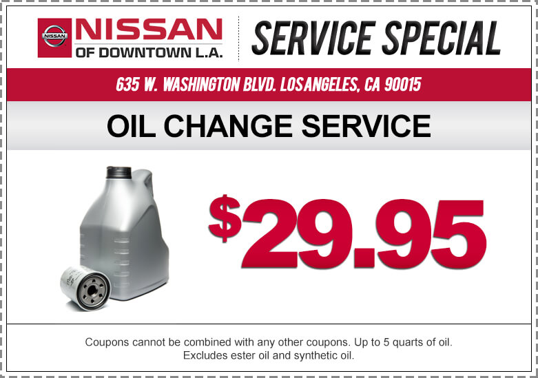 Take A Look At Our Nissan Service Specials