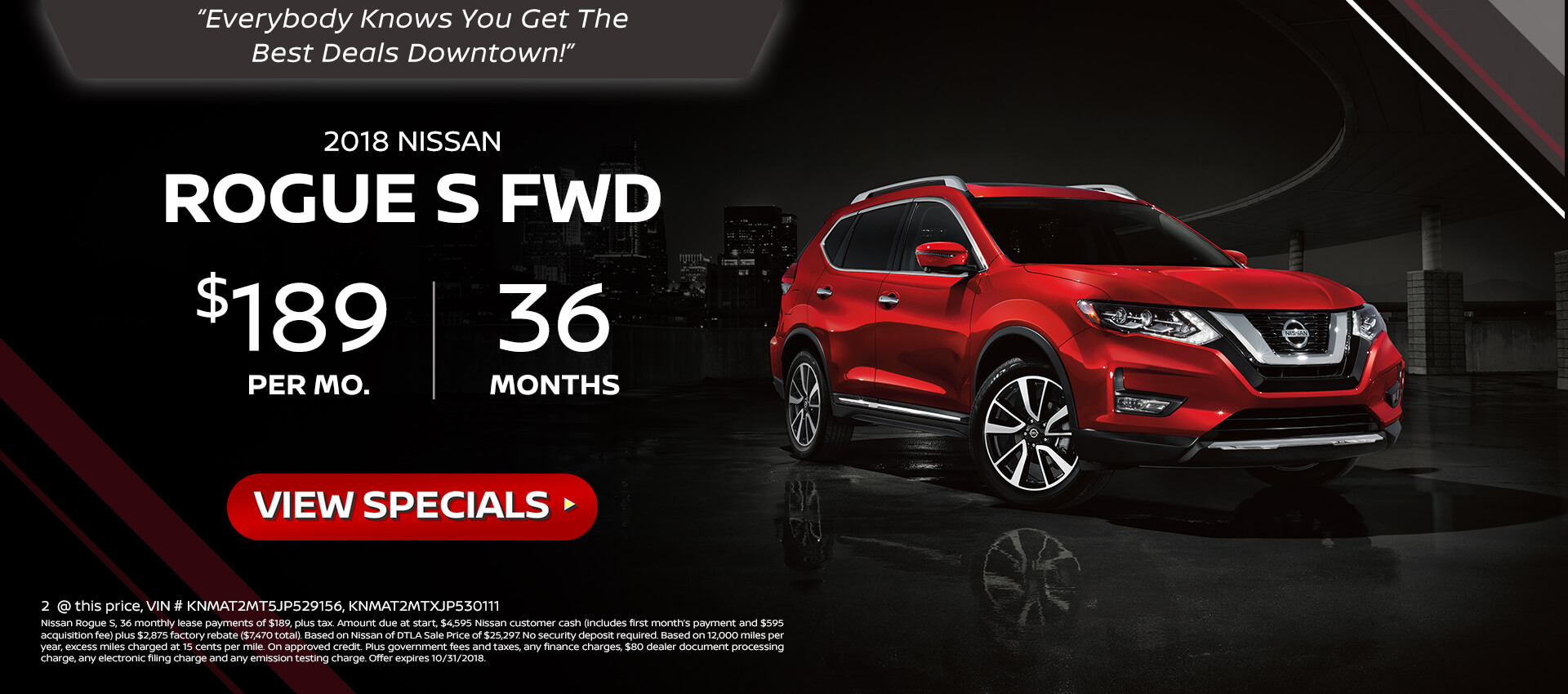 Rogue. Pathfinder. Altima. Leaf. New Specials. Nissan Of Downtown L.A.