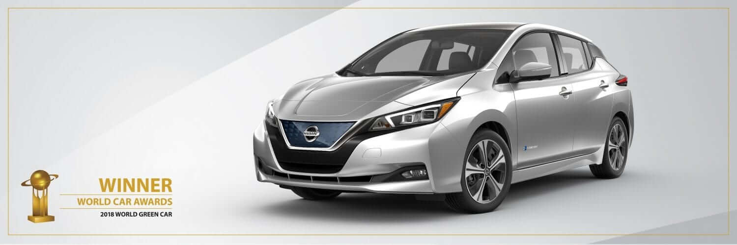 """All-new 2018 Nissan LEAF named """"2018 World Green Car"""" by the World Car Awards"""