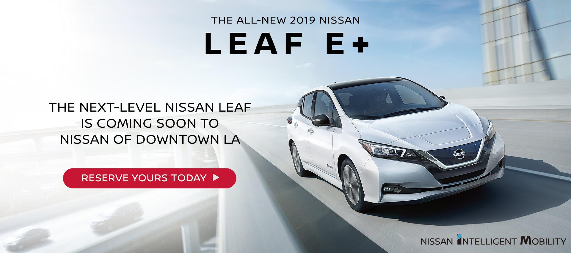 All New 2019 Leaf