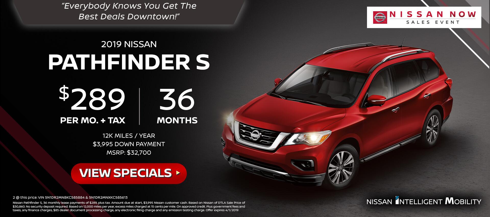 Pathfinder - lease offer