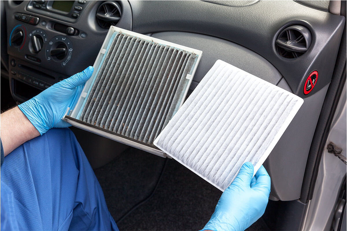 ENGINE AIR FILTER REPLACEMENT* – EXPRESS SERVICE