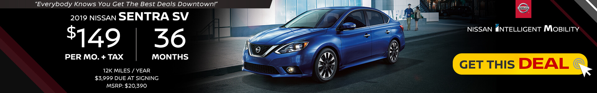 Sentra $149 Lease