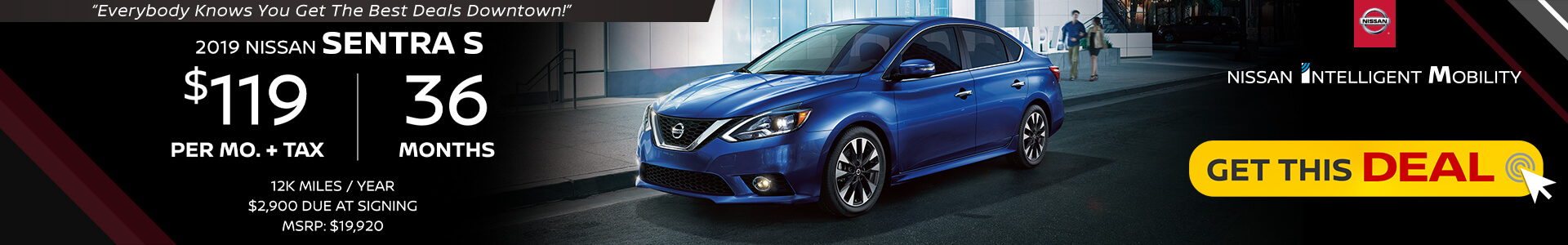 Sentra $119 Lease
