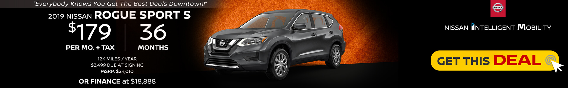 Rogue Sport $129 Lease