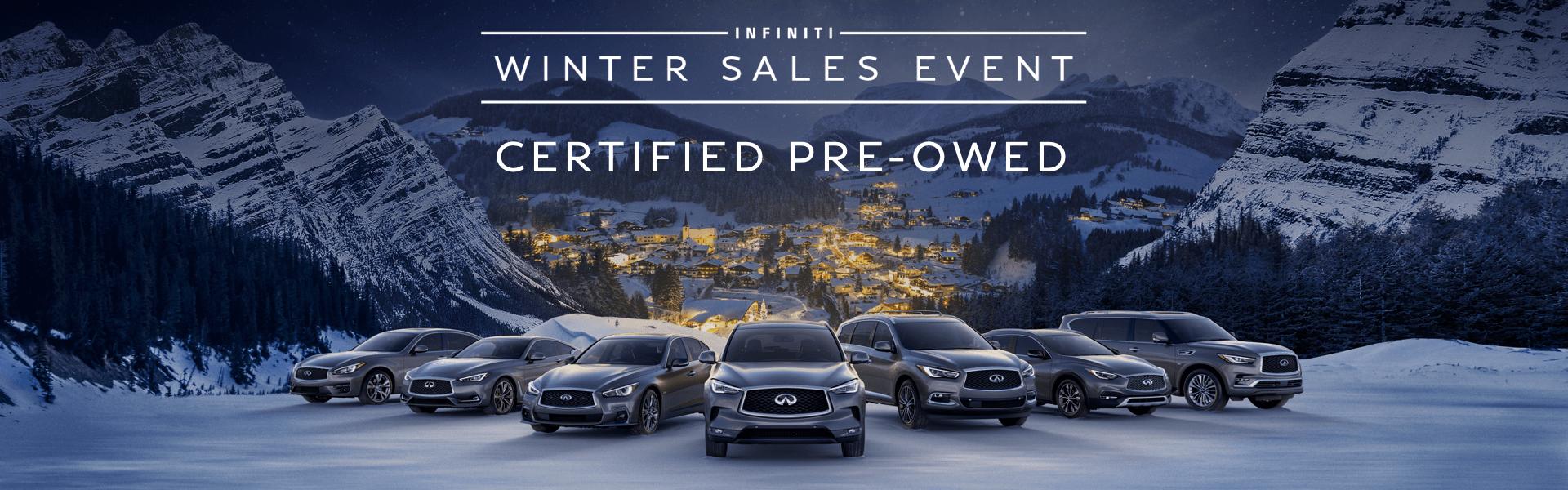 2018 CPO Winter Sales Event