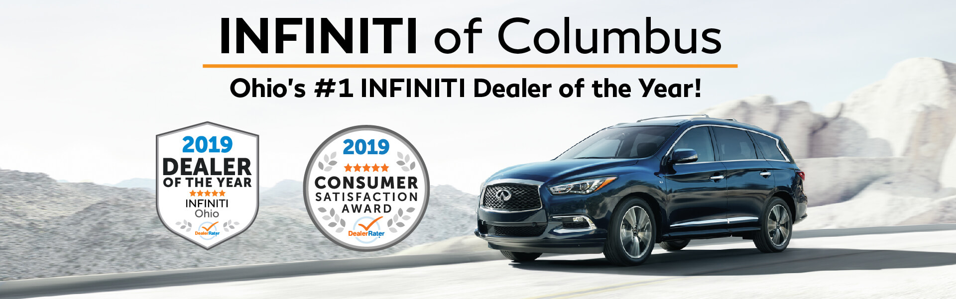INFINITI of Columbus Dealer of the Year