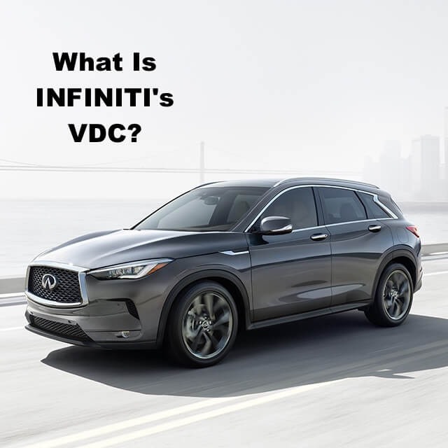 What Is INFINITI VDC Vehicle Dynamic Control 2019