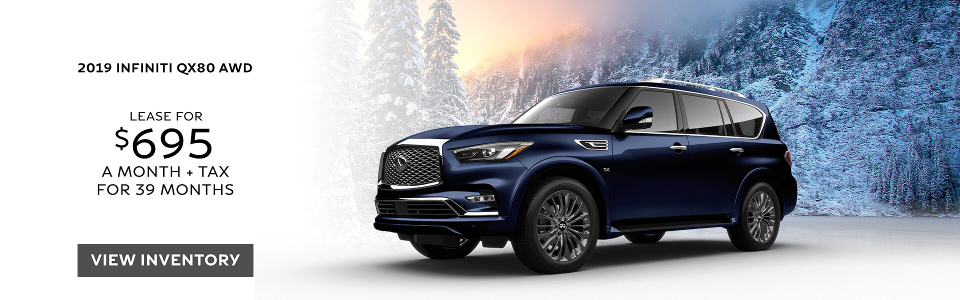 QX80 LUXE - Lease for $695