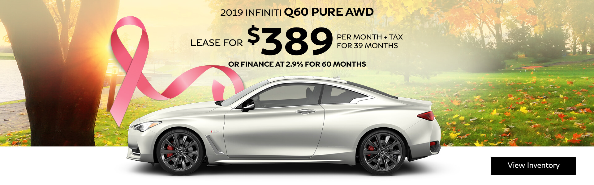 Q60 PURE - Lease for $379