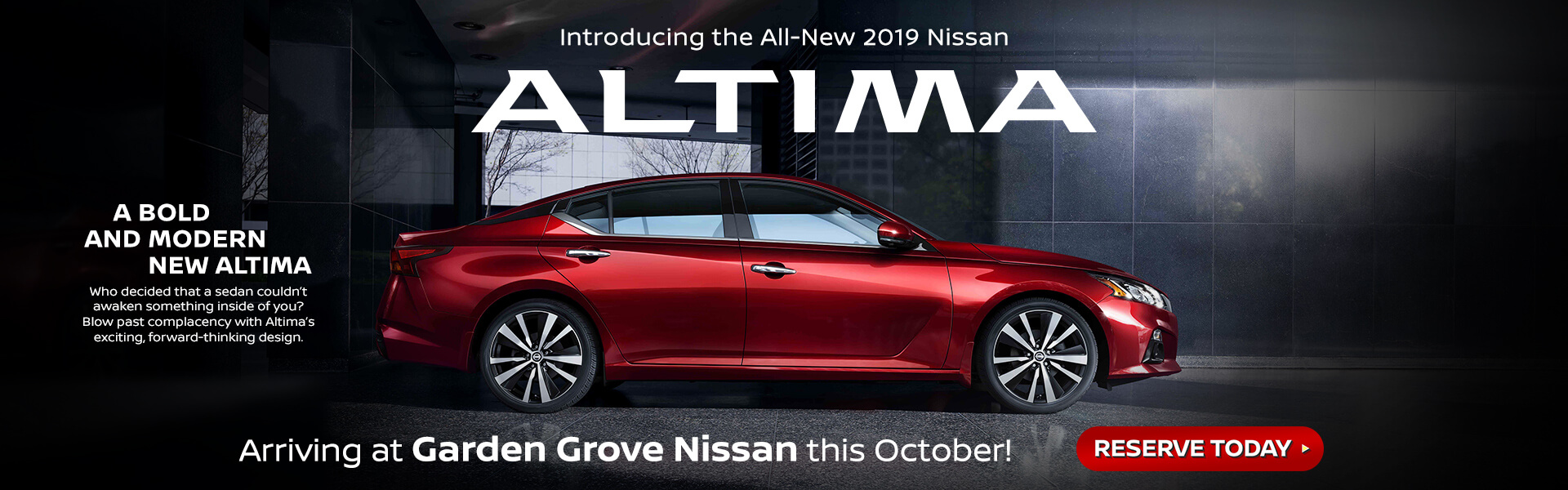 2019 nissan altima - Nissan Garden Grove