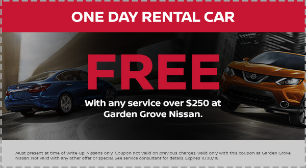 Nissan Free Rental