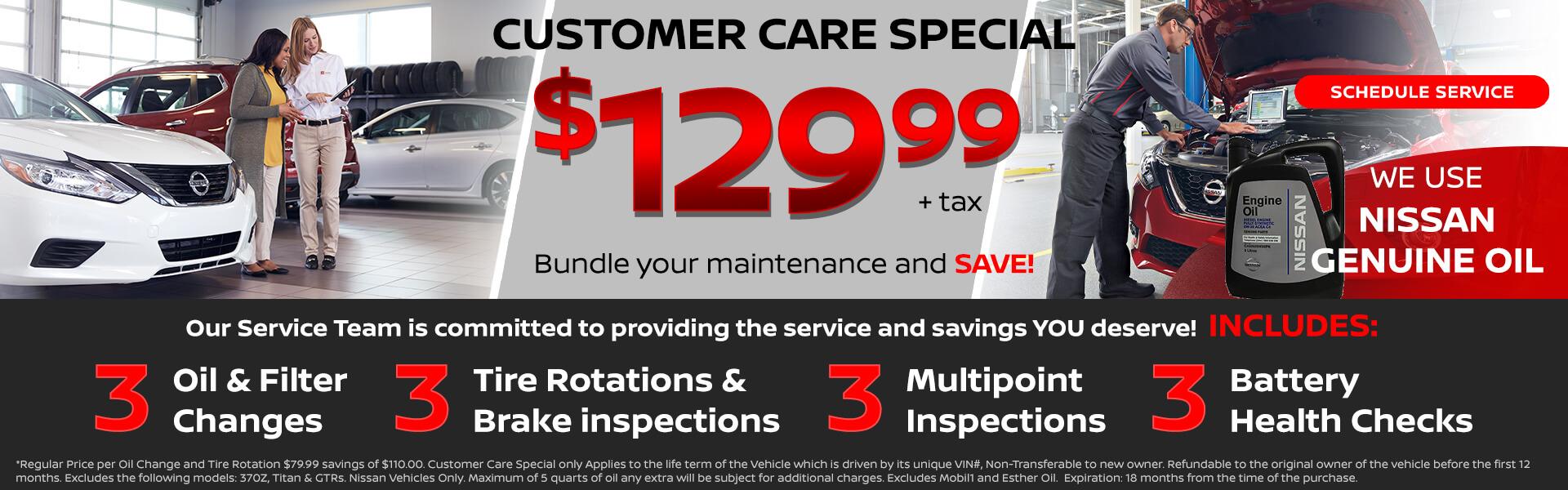 Customer Care Service Special