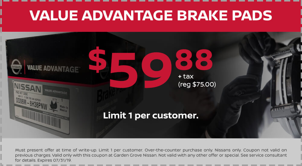Nissan Value Advantage Brake Pads
