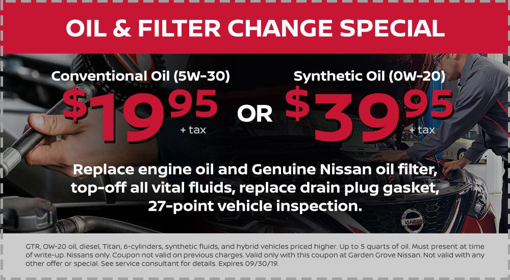 Nissan Oil Filter