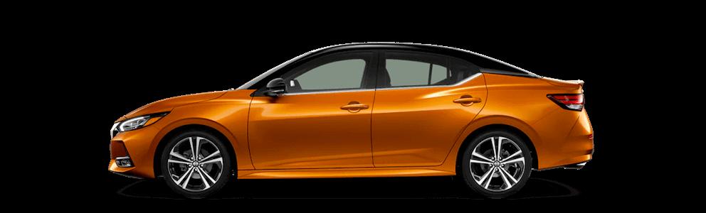 2020 Nissan Sentra Side Profile