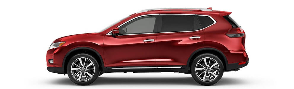 2020 Nissan Rogue Side Profile