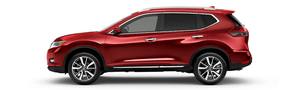 2020 Nissan Rogue Side Profile