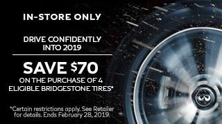 Bridgestone Tires – Save $70