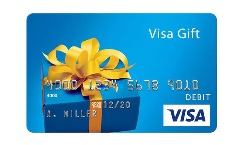 General Gift Card Offer