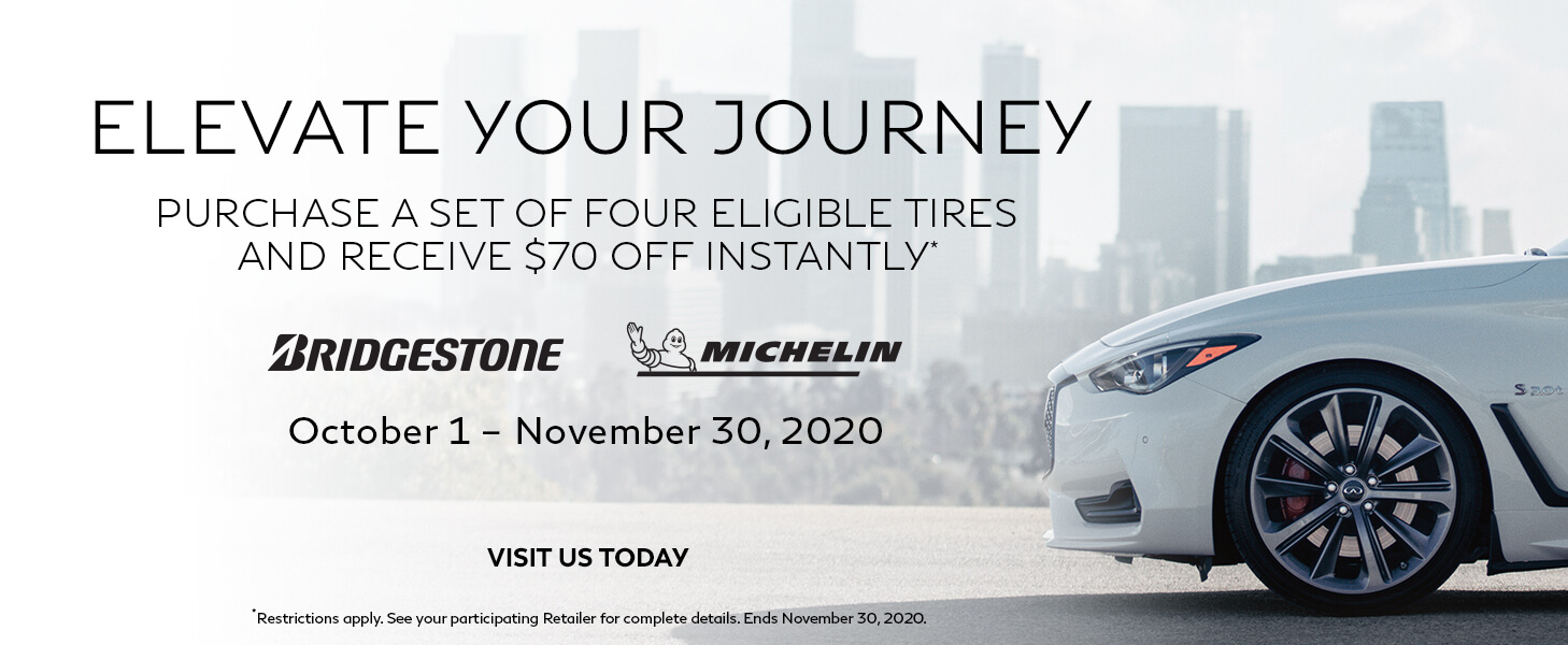 $70 OFF 4 ELIGIBLE TIRES