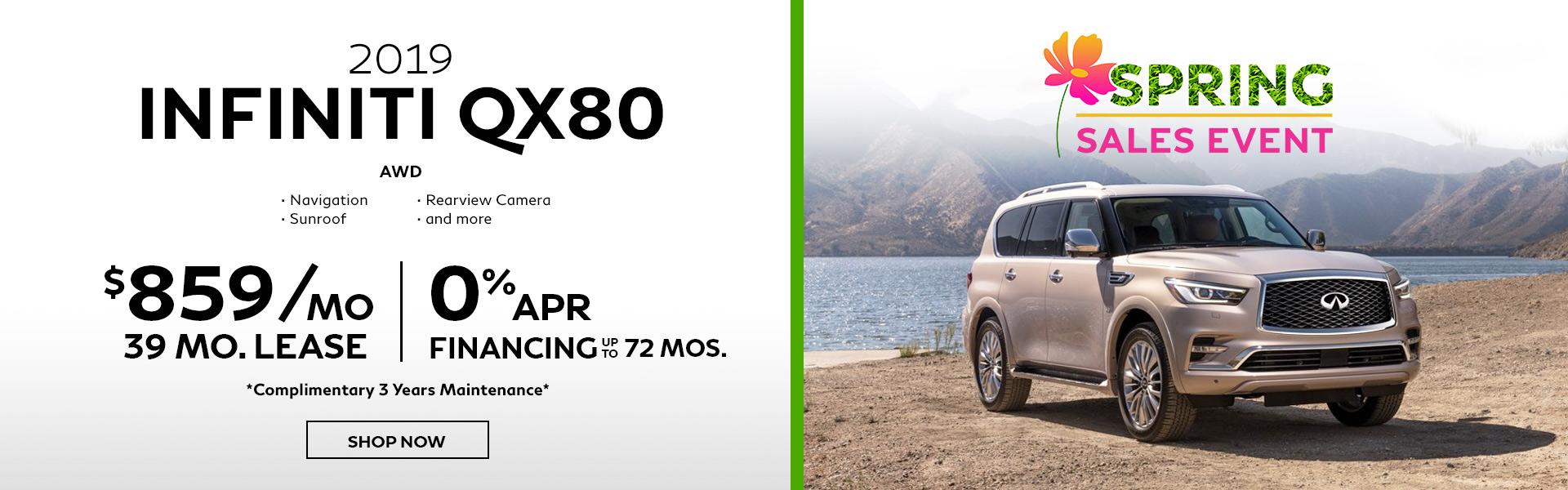 QX80 Hero Offer
