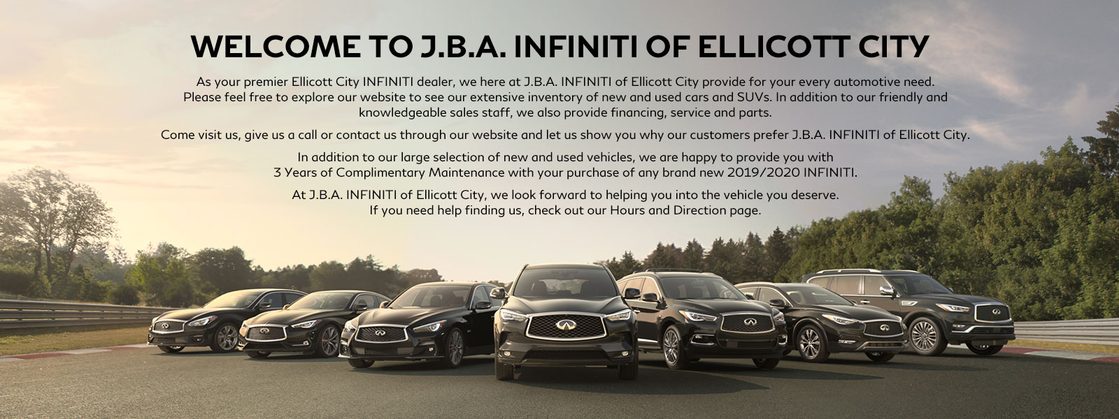 J B A  INFINITI OF ELLICOTT CITY - New & Used INFINITI