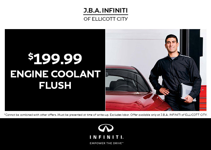 $199.99 Engine Coolant Flush Special