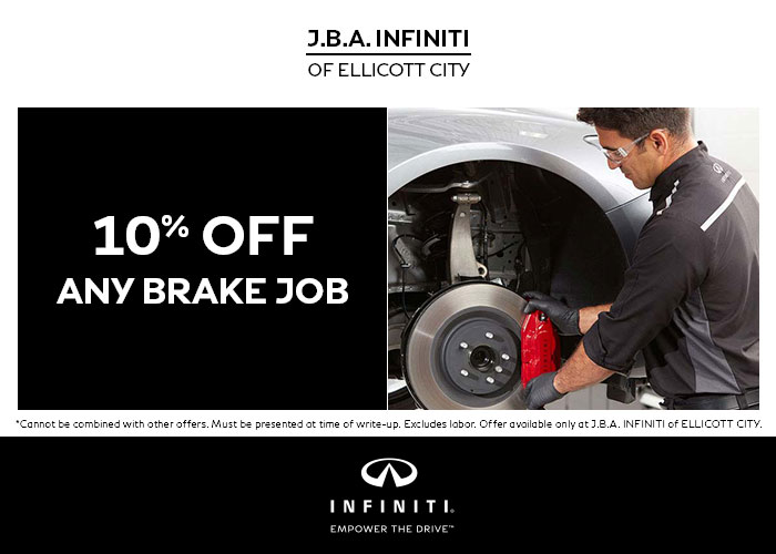 10% OFF On Any Brake Job Special