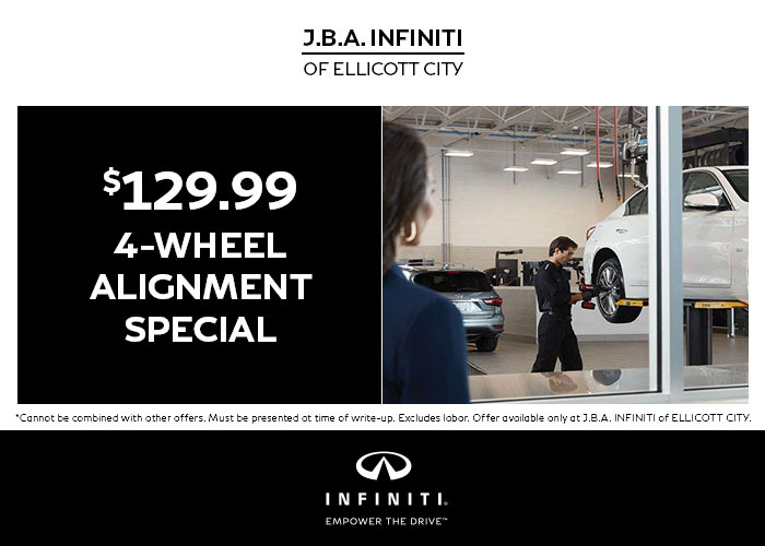 $129.99 4-Wheel Alignment Special
