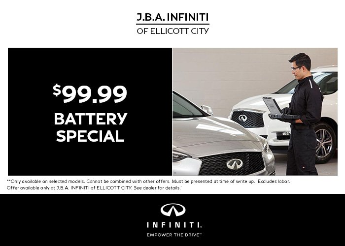 $99.99 Battery Special